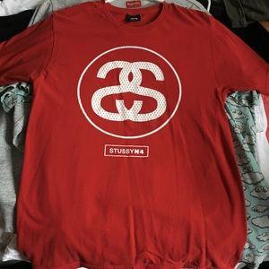 Stussy Red T Shirt